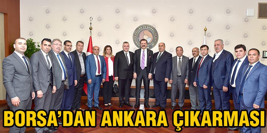 Borsa'dan Ankara çıkarması