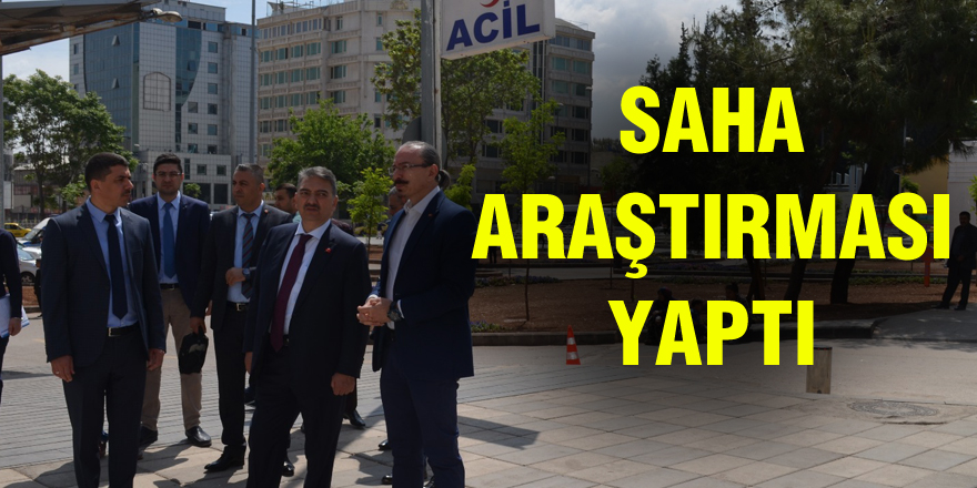 Sağlık Bakan Yardımcısı Öğütken Gaziantep'te