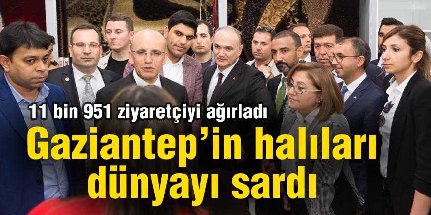 Gaziantep'in halıları dünyayı sardı