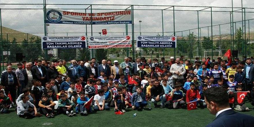 Camiler arası futbol turnuvası finali yapıldı
