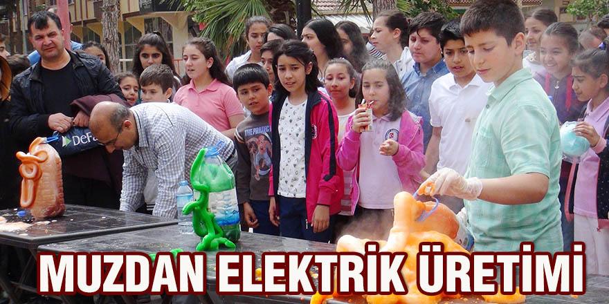 Muzdan elektrik üretimi