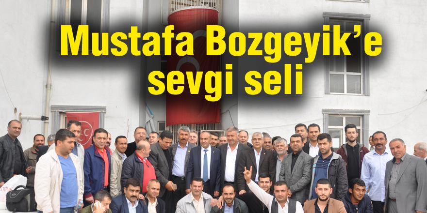 Mustafa Bozgeyik'e sevgi seli
