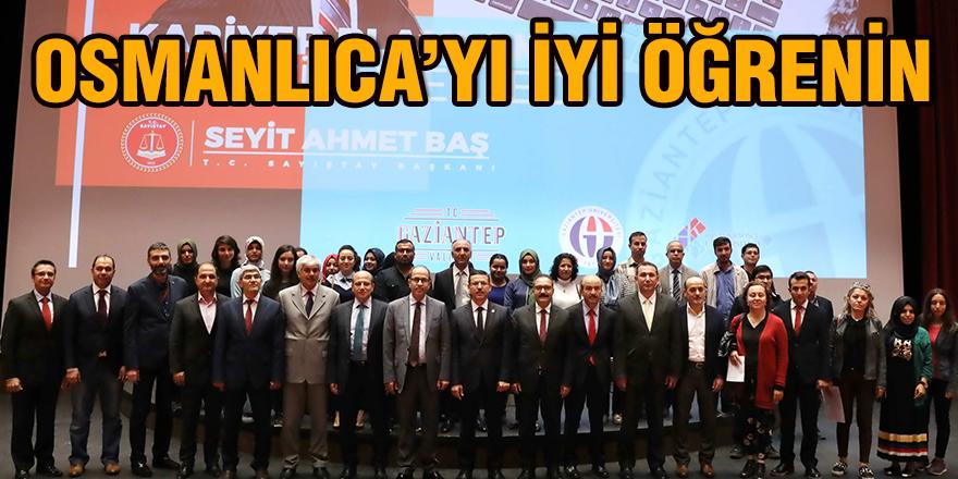 Osmanlıca'yı iyi öğrenin