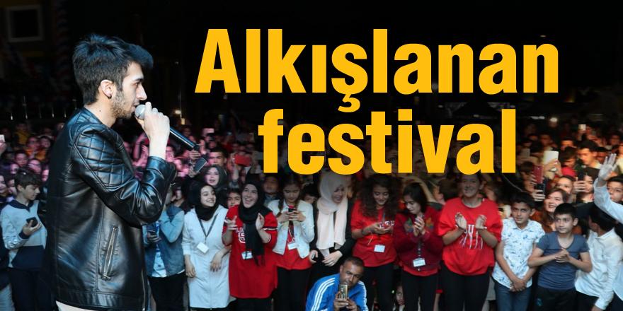 Alkışlanan festival