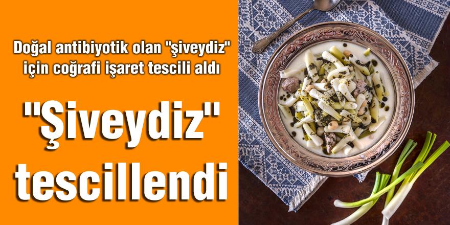 """""""Şiveydiz"""" Gaziantep'in tescilli lezzetleri arasına katıldı"""