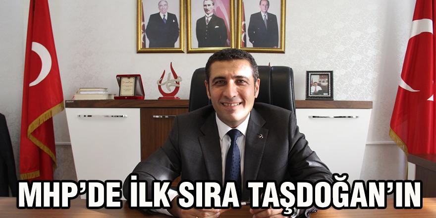 MHP'de ilk sıra Taşdoğan'ın