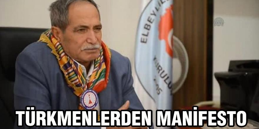 Türkmenlerden manifesto