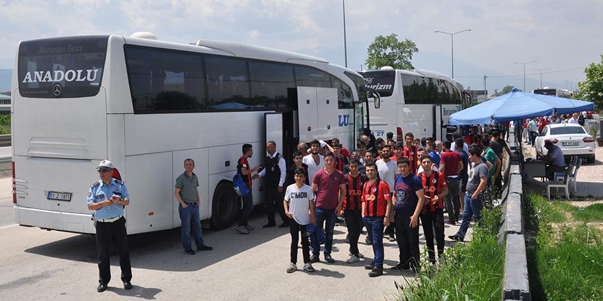 Bursa polisi göz açtırmadı