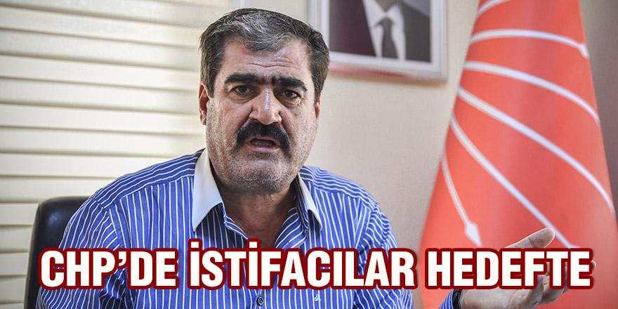 CHP'de istifacılar hedefte