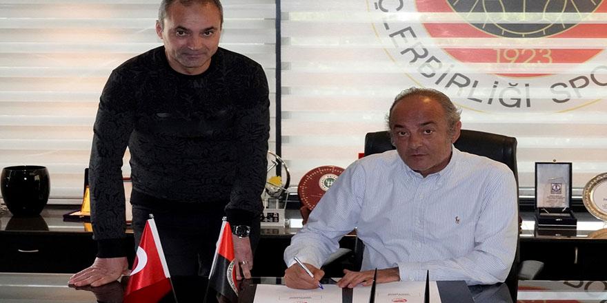 Erkan Sözeri imzayı attı