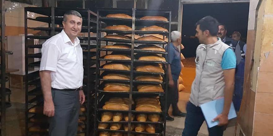İslahiye'de fırınlara ramazan denetimi