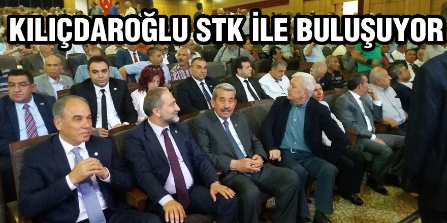 Kılıçdaroğlu STK'lara ne diyecek?