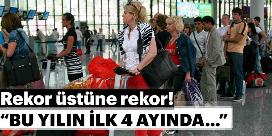 Türkiye turizminde rekorlar devam ediyor