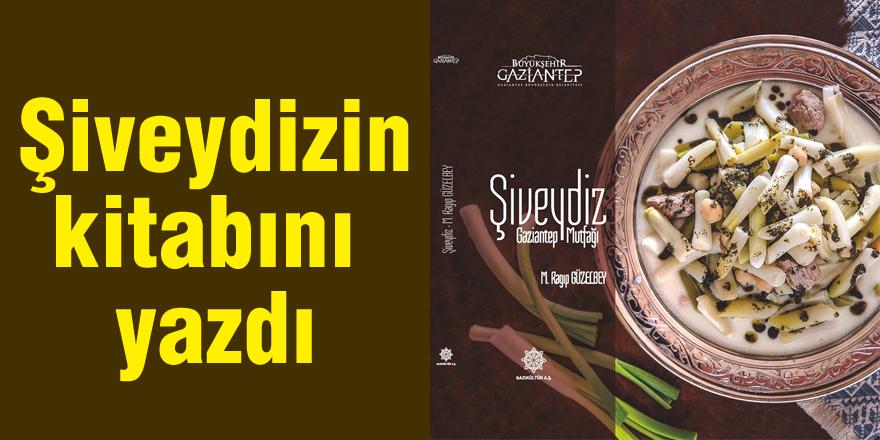 Şiveydiz-Gaziantep Mutfağı' kitabı yayında