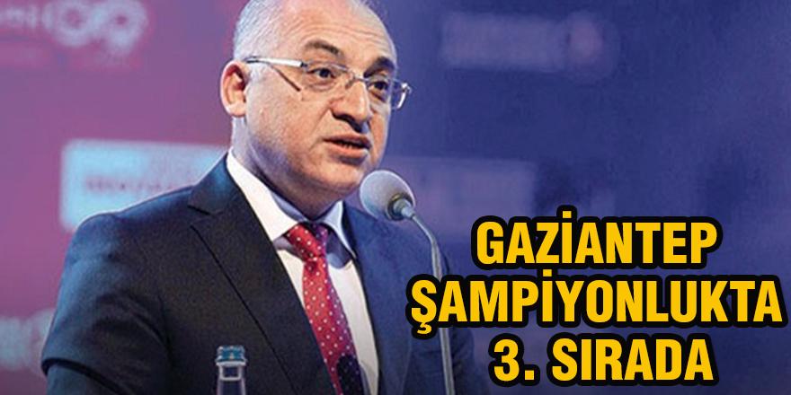Gaziantep Şampiyonlukta 3. Sırada
