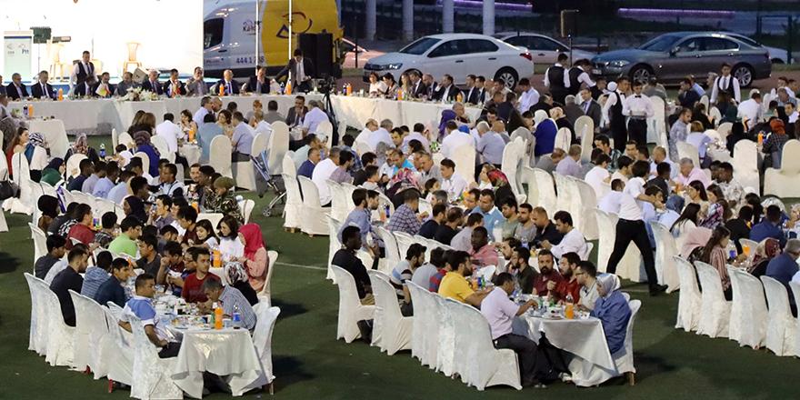 GAÜN'den iftar