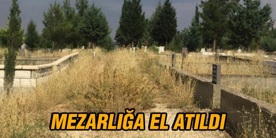 Mezarlığa el atıldı