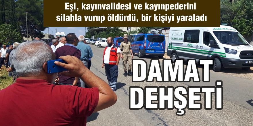 GAZİANTEP'TE  DAMAT DEHŞETİ