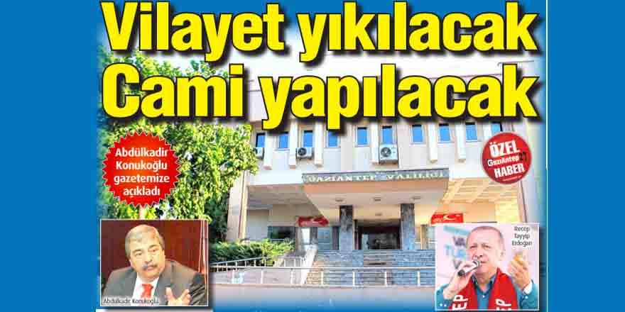 Abdülkadir Konukoğlu gazetemize açıkladı