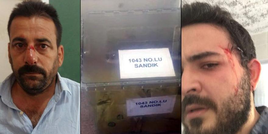 Suruç'ta toplu oy ve müşahitlere darp iddiası