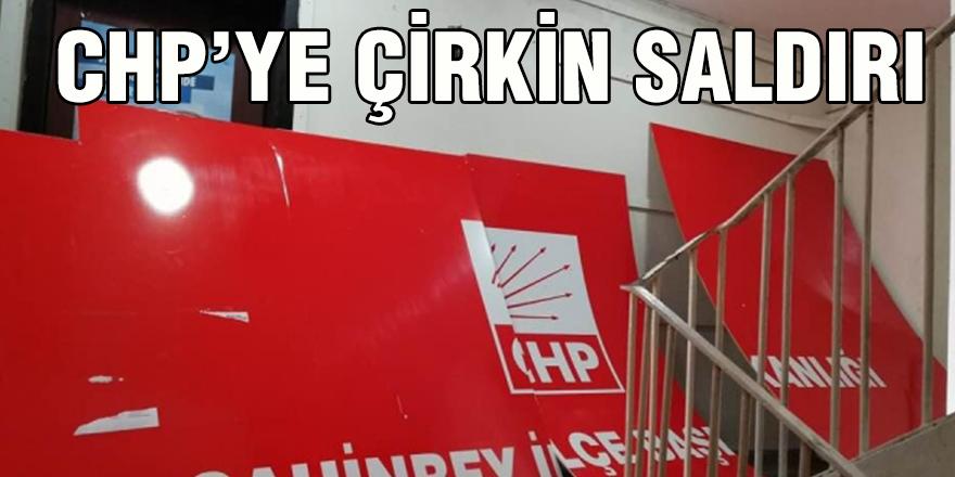 CHP'ye çirkin saldırı