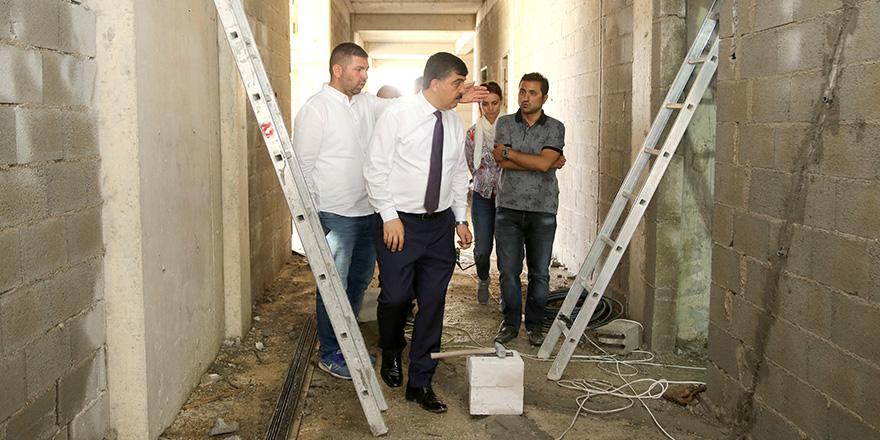 Beykent spor tesisine kavuşacak