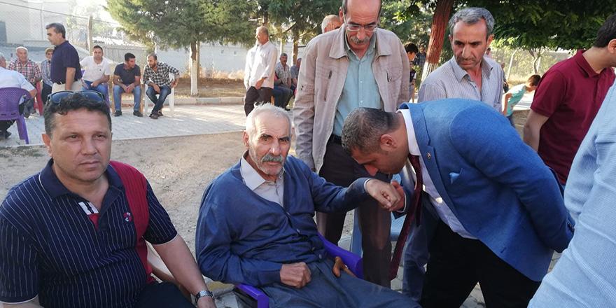Taşdoğan'dan teşekkür ziyareti