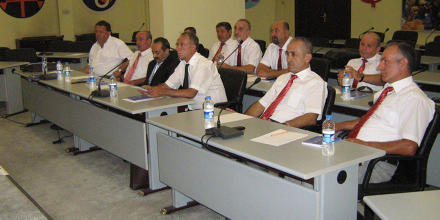 Hasan Ciro FSKD yönetimine devam ediyor