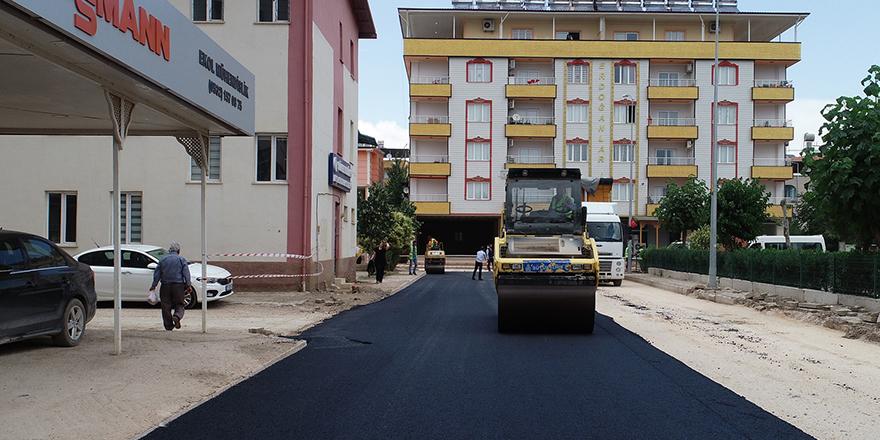 Yollar yenilendi, modern hale geldi