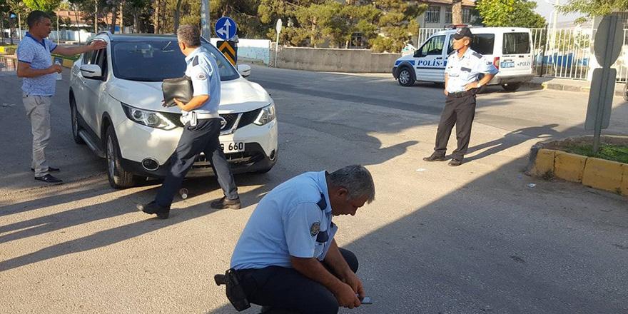 Yavuzeli'nde bisikletli kaza