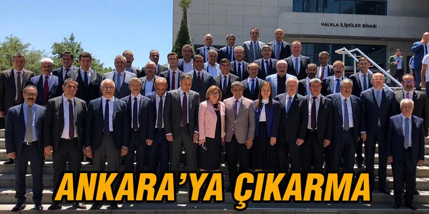 Ankara'ya çıkarma