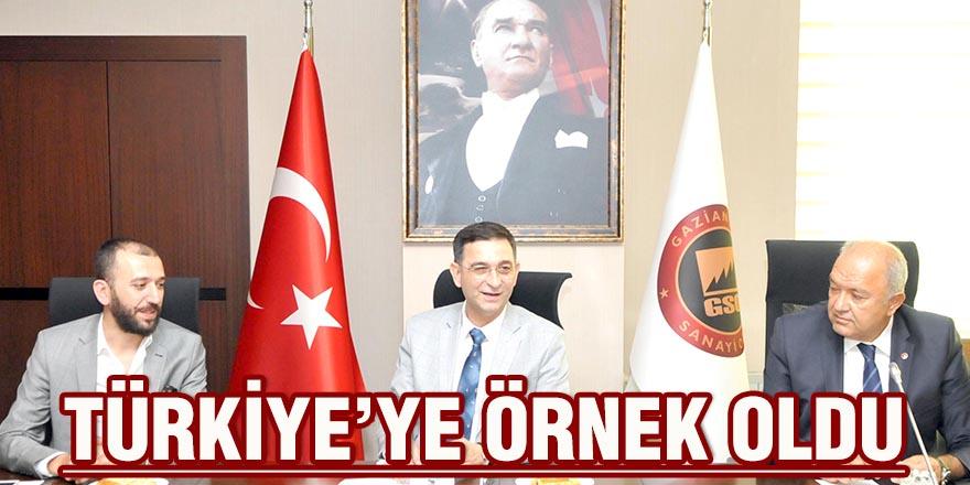 Türkiye'ye örnek oldu
