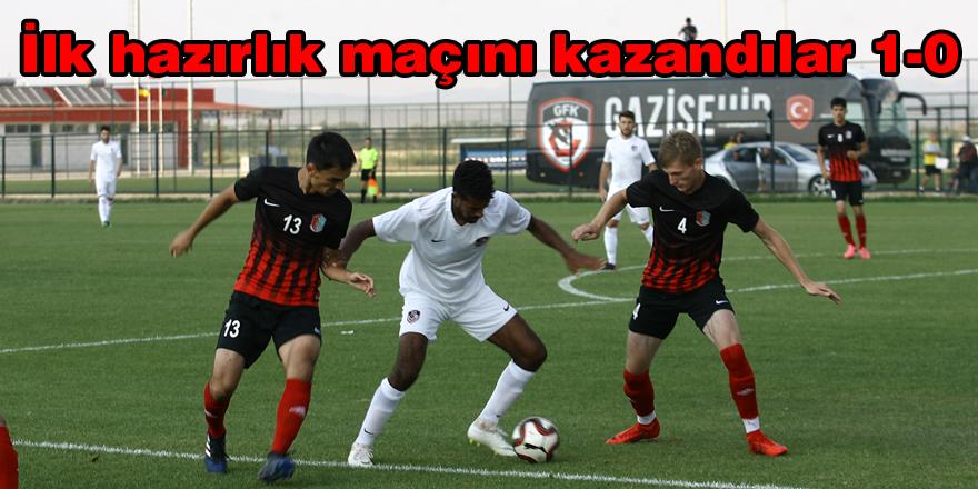 Gazişehir ilk maçını kazandı