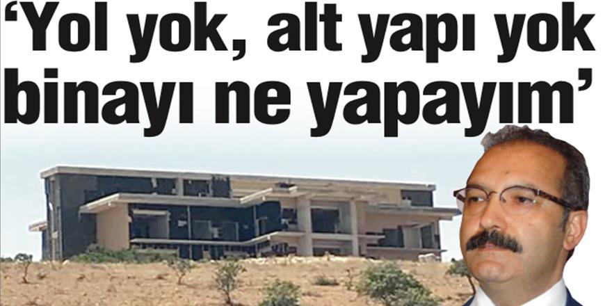 GAÜN Rektörü Ali Gür net konuştu: