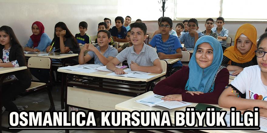 Osmanlıca kursuna büyük ilgi
