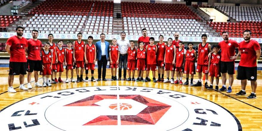 Gaziantep Basketbol 'da alt yapı atağı