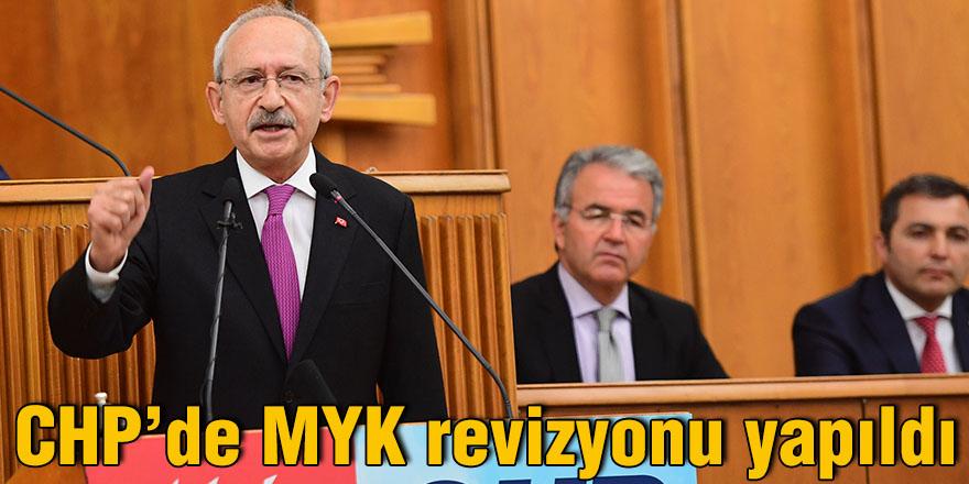 CHP'de MYK revizyonu yapıldı