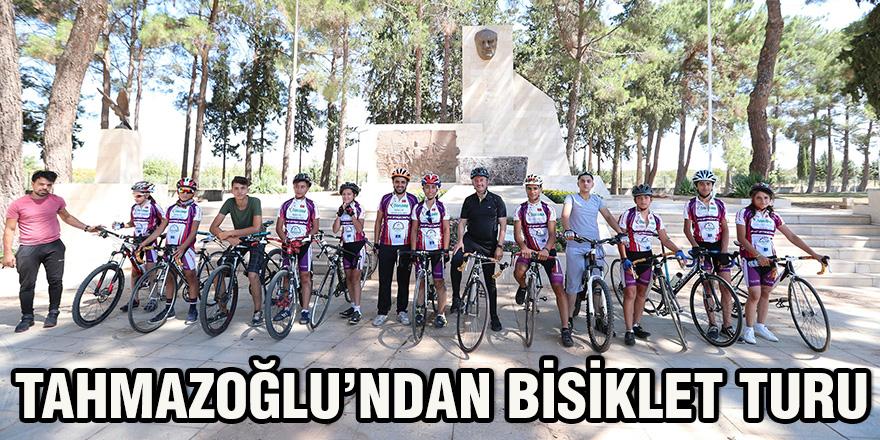 Tahmazoğlu'ndan bisiklet turu