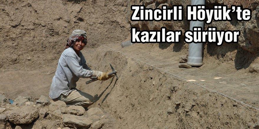 Zincirli Höyük'te kazılar sürüyor