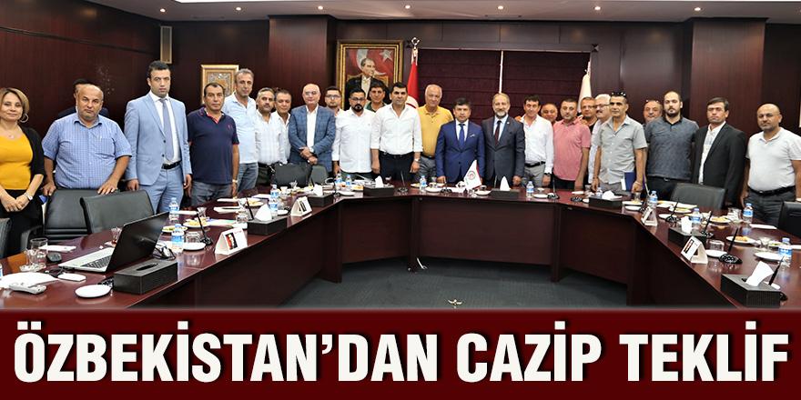 Özbekistan'dan cazip teklif