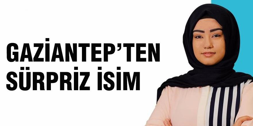 Gaziantep'ten sürpriz isim