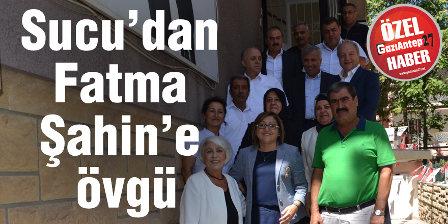 CHP'li Hayri Sucu'dan Fatma Şahin'e övgü