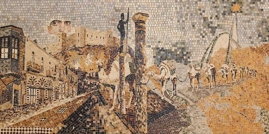 Mozaik sergisine davet