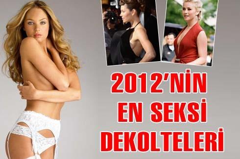 2012'nin en seksi dekolteleri