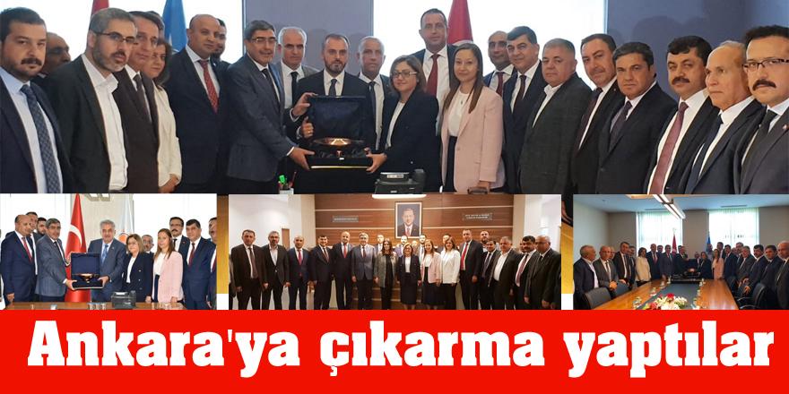 Ankara'ya çıkarma yaptılar