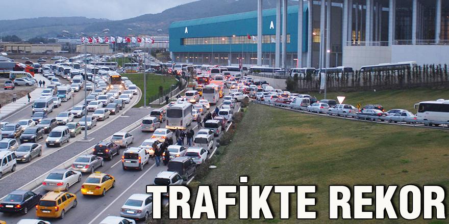 Trafikte rekor