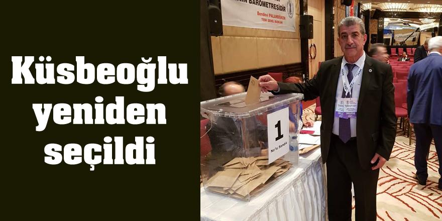Küsbeoğlu yeniden seçildi