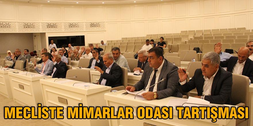 Mecliste Mimarlar Odası tartışması