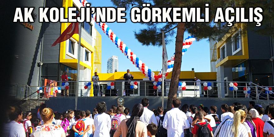 AK Koleji'nde görkemli açılış