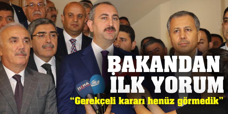 Gül, Enis Berberoğlu'nun tahliyesini değerlendi